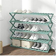 Étagère à chaussures Porte-chaussures pliable