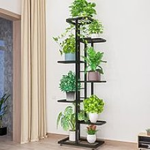 Etagère à Fleurs Escalier Pour Plantes 7 Niveaux