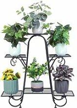 Étagère à Fleurs Fer Forgé - Porte Plante