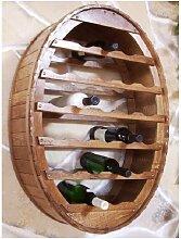 Etagère à vin à Suspendre Tonneau de vin
