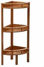 Etagère angle - 3 niveaux - bambou