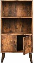 Étagère armoire commode 3 niveaux style