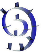 Etagère Bookworm / L 520 cm - Kartell bleu en