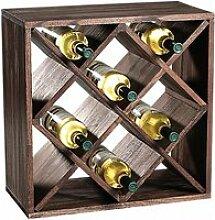Etagère carré pour bouteilles à vin - 12