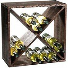 Etagère carré pour bouteilles à vin - 4