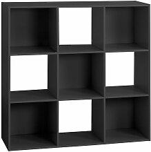 Etagère cube design Mix'n modul - Noir