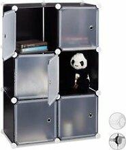 étagère cubes penderie armoire rangement 6