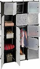 Étagère cubes rangement penderie armoire 11