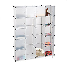 Étagère cubes rangement penderie armoire 14