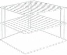 Etagère d'angle de placard - metaltex -