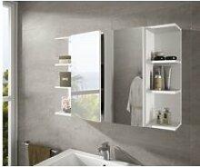 Etagère d'angle salle de bain