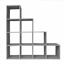 étagère, d'escalier, étagère de plancher,