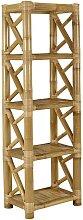 Etagère DAHLIA - 4 étagères - Bambou