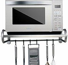 Étagère de cuisine Etagère à micro-ondes en