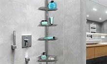 Étagère de douche 4 niveaux : Étagère de