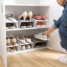 Étagère de rangement pour chaussures, 4 pièces,