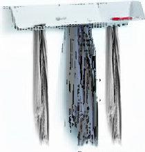 Etagère Dock / Portemanteau,Pense-bête - B-LINE