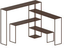 Etagère Easy Bridge / 4 plateaux modulables - H
