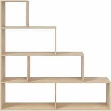 Étagère escalier ANAÏS 7 cases L145x H145cm -