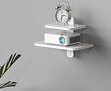Étagère flottante murale meuble TV étagère TV