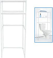 Étagère Métal salle de bain 61 x 28 x 134 cm