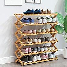 Étagère Meuble À Chaussures Bois Extensible 6