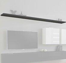 Étagère modèle Berit 180 couleur gris