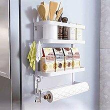 Étagère murale magnétique pour réfrigérateur
