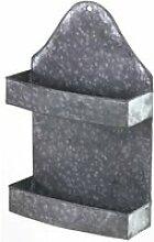 Etagère porte-epices de cuisine en zinc 10530