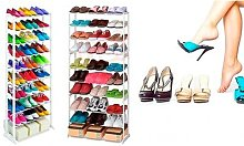 Étagère pour 30 paires de chaussures : x 1