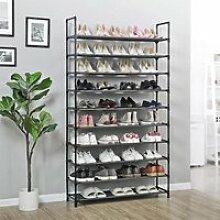 Etagère range chaussures -  40 - 50 paires -
