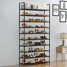 Etagère range chaussures modulable 10 niveaux