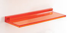 Etagère Shelfish / L 45 cm - Kartell orange en