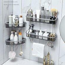 Étagères de salle de bain, étagère de