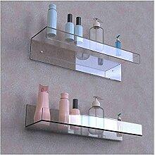 Étagères flottantes acryliques Ensemble | 4 mm