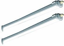 Etc-shop - 2x baignoires LED lumineuses halls