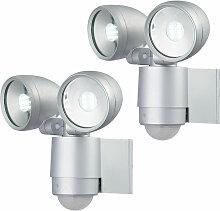 Etc-shop - 2x éclairages extérieurs LED, spots