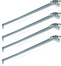 Etc-shop - 4x lampe de baignoire à LED éclairage
