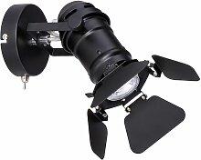 Etc-shop - Applique au sol lampadaires abat-jour
