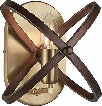 Etc-shop - Applique bronze salon FILAMENT lampe