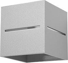 Etc-shop - Applique d'intérieur moderne gris