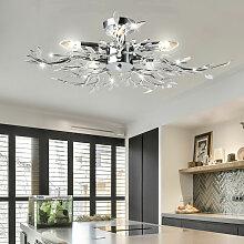 Etc-shop - Couvre lampe feuilles design éclairage