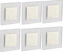 Etc-shop - Ensemble de 8 spots muraux LED,