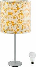 Etc-shop - Lampe abat-jour lampe éclairage fleurs