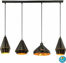 Etc-shop - Lampe de plafond suspendue design salon