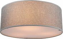 Etc-shop - Plafonnier design LED lampe en tissu