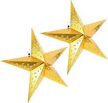 Étoile de Noël Lanterne Papier Abat- Jour: de