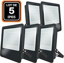 Europalamp - Lot de 5 Projecteurs LED Industriel