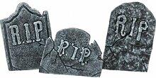 EUROPALMS Halloween Tombstone Set - Décoration