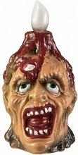 EUROPALMS Halloween Zombie lamp, 18cm -